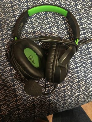 Turtle Beach gaming headset with mic for Sale in Waxahachie, TX