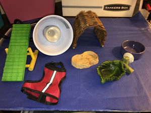 Reptile or small animal Supplies Bundle for Sale in Ashburn, VA