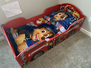 Paw Patrol Toddler Bed and extras for Sale in Westminster, CO