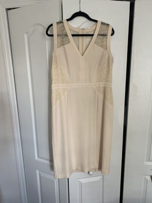 Anne Klein Cream Shift Dress for Sale in Miami, FL