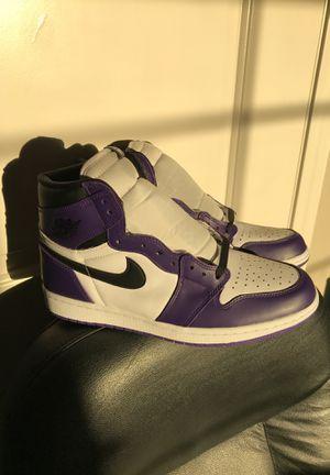 Air Jordan 1 Retro High Court Purple for Sale in Lake Elsinore, CA
