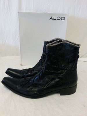 Aldo IOB Men's Leather Boots Size 13 for Sale in Orlando, FL