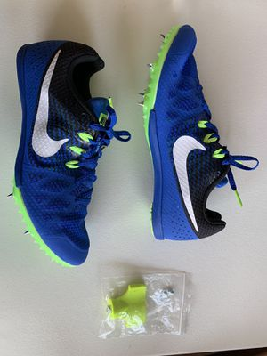 New Men's Size 8 Nike Track Shoes w/Metal Spikes and tool for Sale in Chattanooga, TN