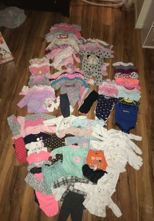 Huge Lot of Over 100 Items Baby Girl Newborn and 0-3 Month Clothes for Sale in Severn, MD
