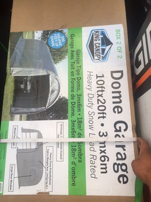 Dome garage 10 x ft 20 ft for Sale in Torrance, CA