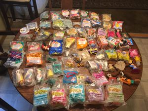 63 plus In The Package Collectable Mcdonlds Happy Meal Toys for Sale in Columbus, OH