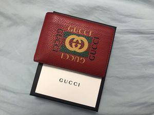 Gucci slim bifold logo wallet for Sale in Philadelphia, PA