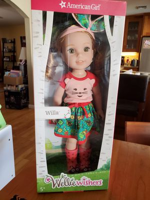 American Girl Wellie Wishers Doll- Willa for Sale in Tempe, AZ