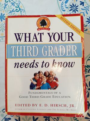 What Your Third Grader Needs to Know for Sale in Orange, VA