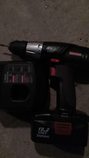 Craftsman complete cordless drill kit for Sale in Fresno, CA