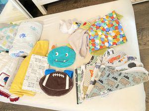 Baby bandana bibs, blankets, etc for Sale in Pembroke Pines, FL