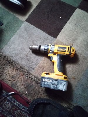 Dewault drill 18volts for Sale in Stockton, CA