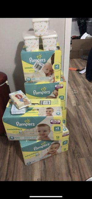 BABY Pampers ❗️ & Wipes for Sale in Philadelphia, PA