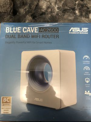 Asus blue cave router AC2600 for Sale in Boston, MA