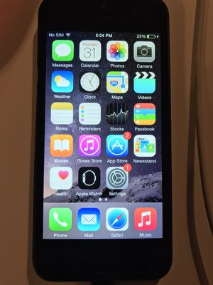 iPhone 5 perfect no SIM card for Sale in Kissimmee, FL
