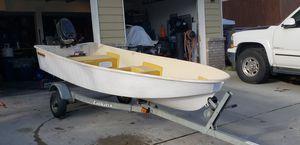 Fiberglass boat and motor for Sale in Wenatchee, WA