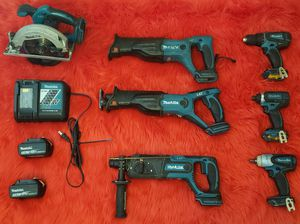 Makita Tools 7 Combo Kit/Set for Sale in Chino, CA