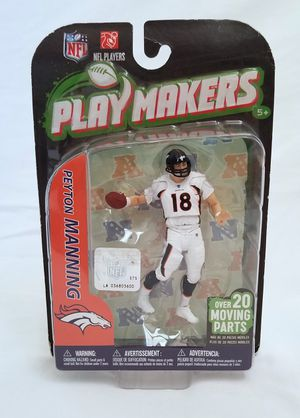 Playmakers Peyton Manning action figure for Sale in Redwood City, CA