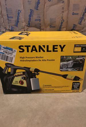 Stanley high pressure washer for Sale in Rutland, MA