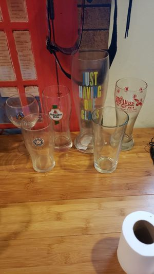 Beer Glass collection 2 for Sale in Philadelphia, PA