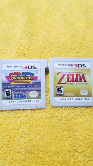 Nintendo 3ds games...10 GAMES!!!! for Sale in Chula Vista, CA