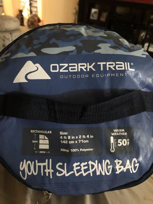 Youth sleeping bag (2 to choose from) for Sale in Fresno, CA