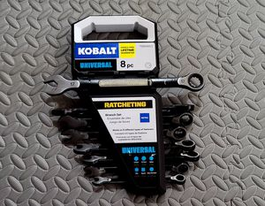 New - KobaltUniversal 8-Piece 12-Point Metric Ratchet Wrench Set for Sale in Bothell, WA