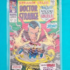 STRANGE TALES #156 STERANKO art script Nick Fury Doc Strange Marvel VF+ for Sale in Chino, CA