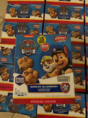Paw patrol blueberry muffins for Sale in Phoenix, AZ