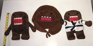 Domo Karate Plush Toy Doll And Hat - All this $5 for Sale in Port St. Lucie, FL