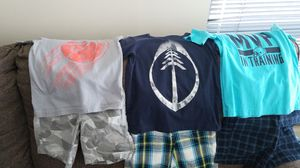 Toddler boys mix n match shirts & shorts for Sale in Chicago, IL