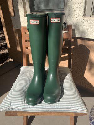 Hunter Rain Boots ( Norris Field WIDE FIT) for Sale in Gilbert, AZ