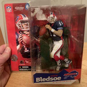 McFarlane Buffalo Bills Drew Bledsoe 7inch Figure for Sale in Plainfield, IL