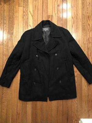 Black Merona Pea Coat size medium for Sale in NO POTOMAC, MD