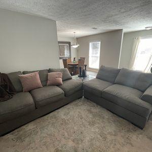 Couch w/ Corner Table for Sale in Atlanta, GA