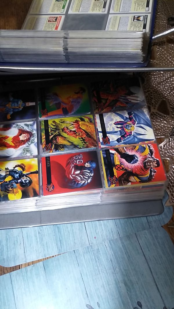 Comics and cards