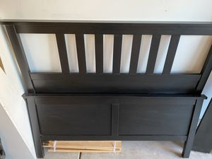 IKEA hemmes full size bed frame for Sale in Hampshire, IL