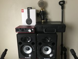 Recording equipment Bundle Package for Sale in Suffolk, VA