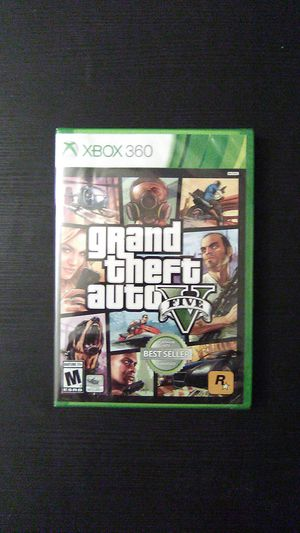 Grand Theft Auto 5. Brand New for Sale in San Tan Valley, AZ