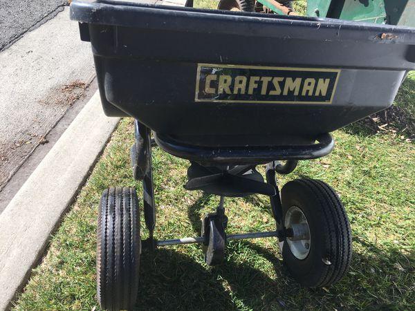 Lawn spreader - Craftsman
