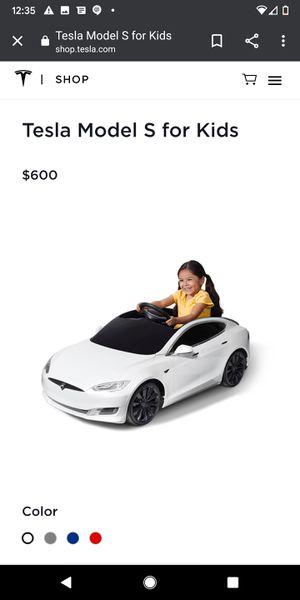 Kids Car Tesla for Sale in San Jose, CA