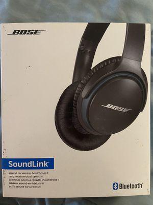"""LIKE NEW"" BOSE Soundlink II Around-ear wireless headphones for Sale in Oregon City, OR"
