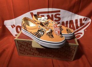 🍊 Size 10 • 13 Logo Mix Era Vans Shoes Brand New in the Box low top for Sale in Apple Valley, CA