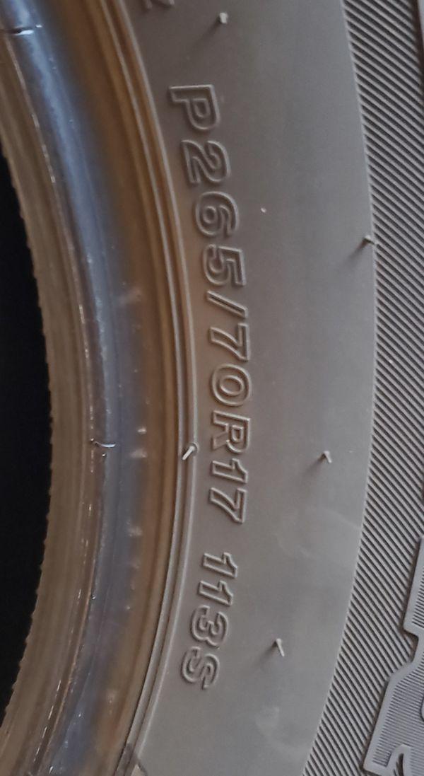 Bridgestone Dueler HT 265/70R17