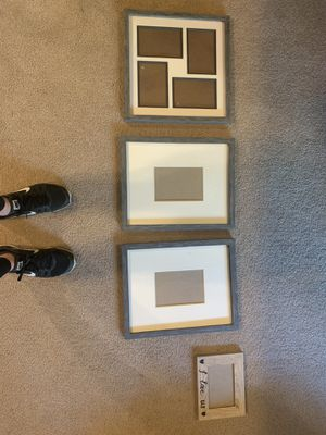 DIY painted picture frames for Sale in Bonney Lake, WA