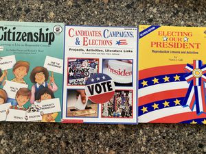 Elections, Social Studies, Citizenship – Teacher Resources with Reproducibles for Sale in Chesterfield, MO