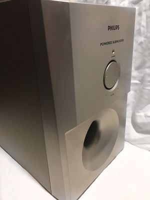 Philips power subwoofer speaker for Sale in Pittsburgh, PA