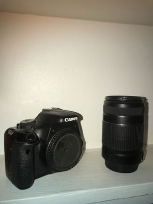 Canon rebel t3i with multiple lenses! for Sale in San Diego, CA