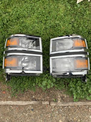 2014 & 2015 Chevrolet Silverado Factory OEM Headlights for Sale in Tracy, CA