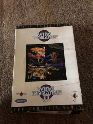 Wing commander and wing commander II combo pack (1994) for Sale in Woodway, WA